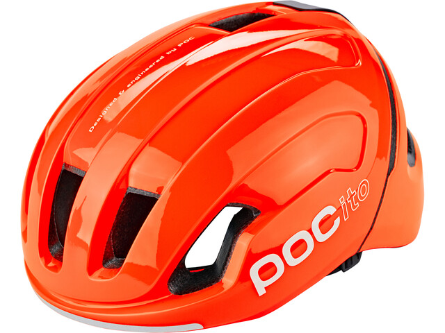 POC POCito Omne Spin Helmet Kids fluorescent orange